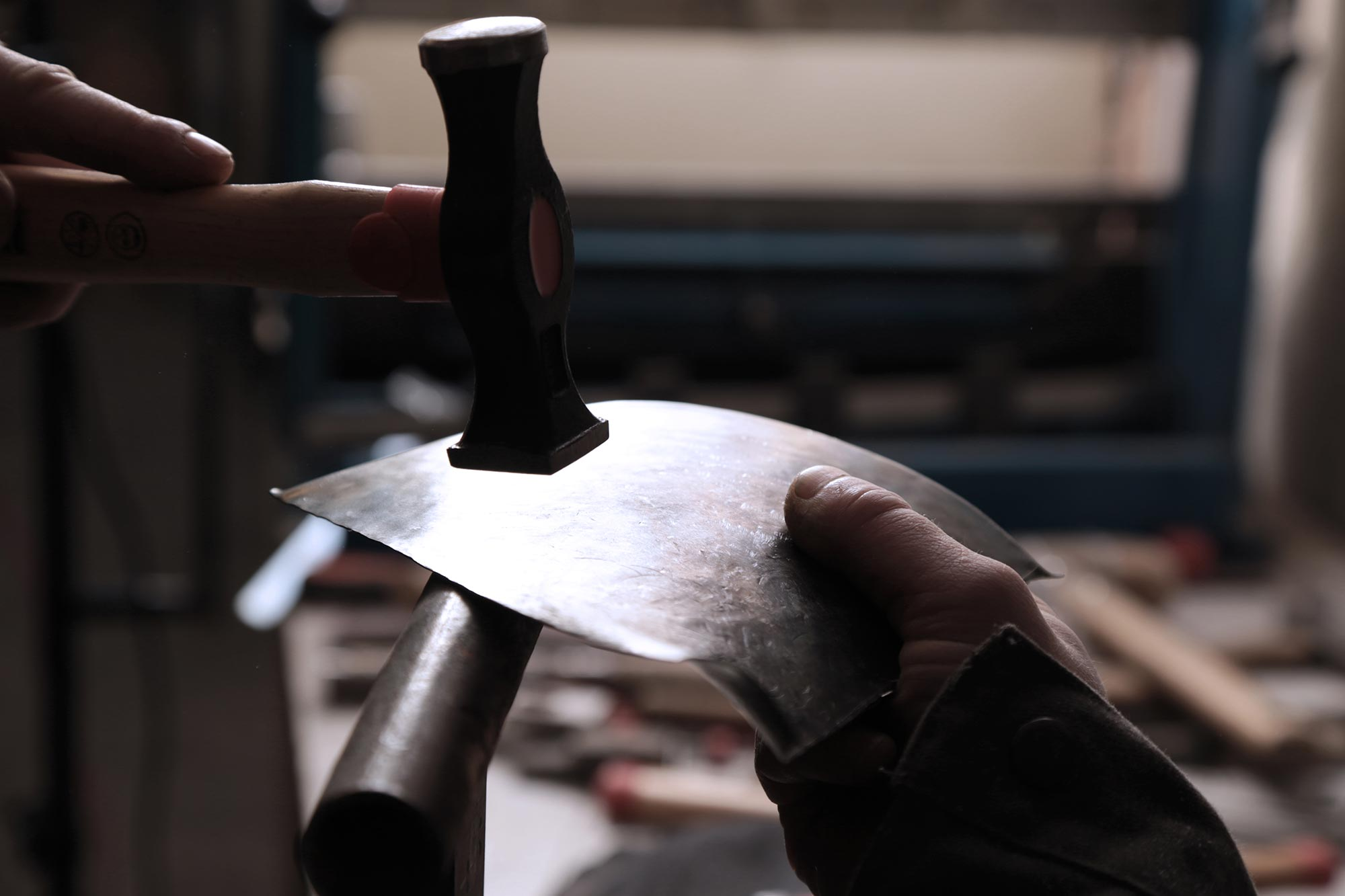Into the workshop